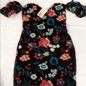 Dainty Hooligan Floral Dress